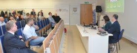 Pierwsza konferencja GAAD w Opolu, wystąpienie Pana Jacka Zadrożnego z żoną