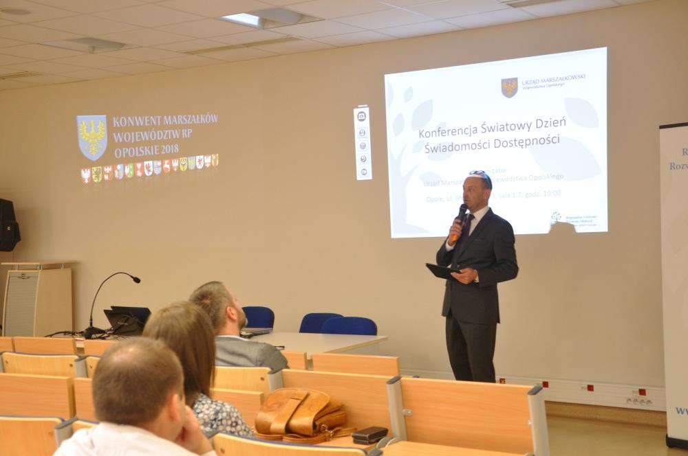 Pierwsza konferencja GAAD w Opolu,Mariusz Bogucki, Urząd Marszałkowski Województwa Opolskiego