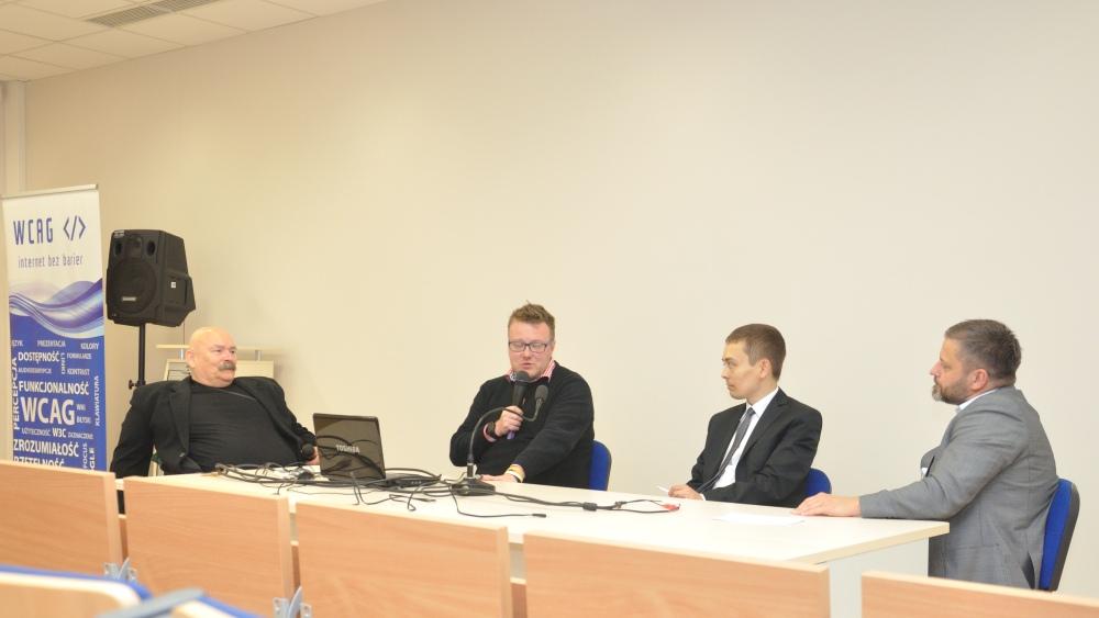 Pierwsza konferencja GAAD w Opolu, 17 maja 2018 r., debata ekspertów
