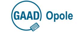 Logotyp Światowego Dnia Świadomości Dostępności a obok słowo Opole